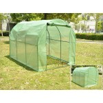Polytunnel Greenhouse with PE Cover 3m x 2m x 2m