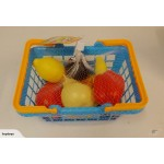 Kids Fruits/Vagetables /Food with Basket Play Set