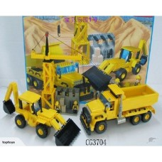 SALE! 715Pcs Engineering Truck&Construction Blocks