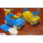 New! Car Potty Chair With Music  Blue or Yellow