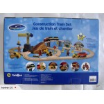 F/Second 50 Piece Wooden Construction Train Set