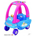Brand New Kids' Ride On Coupe Car -Pink with Blue