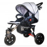 WEEKLY SALE!  Deluxe 3-Wheel Stroller Buggy/ Pram GREY