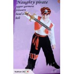 NEW! Fantastic Pirate Costume / Dress Up (1108152)