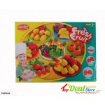 NEW! Kids Fresh Fruits Play Dough Set