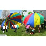 NEW! Multi Coloured Kids Play Parachute
