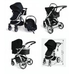 Brand New Deluxe Travel System 2 in 1 Stroller + Capsule