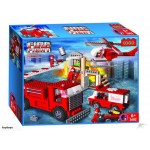 NEW! 660Pcs Fire Engine Blocks - Lego compatible