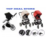 SALE! NEW! Deluxe 4-Wheel Stroller Buggy/ Pram