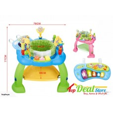 Exersaucer Bouncing Chair with Piano  PINK