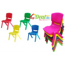 NEW! Durable Plastic Kids Chairs -2 colours