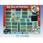 Mixed Marbles- Colours Sizes Lot Assorted