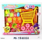 New! Kids Shopping Trolley with Kitchen Play Set
