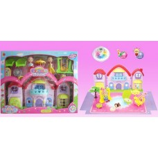 SALENew! Musical Dolls House & Furniture Play Set