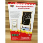 Large Wooden Magnetic Whiteboard & Blackboard Ease