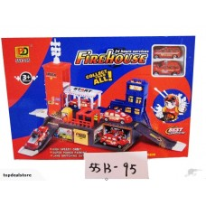 New! Kids Fire Rescue Play Set