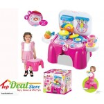 SALE! Foldable Kids Kitchen Set with Light & Sound