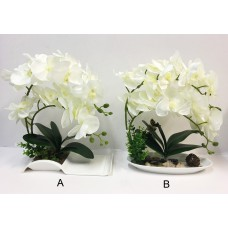 New! Beautiful Artificial Orchid / Flower/ Plant B