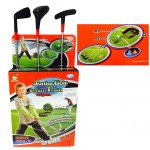 NEW! Kids Garden Golf Set-3 Clubs, Balls with Mat