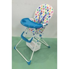 Brand New Foldable Baby High Chair- BLUE