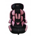 NEW! Elegant all in one car seat/ booster seat (9-36Kg) Pink/black