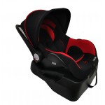 Band New Lucky Bebe  Infant Capsule and BASE -Red/black