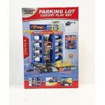 New! Kids Car Parking Garage Play Set