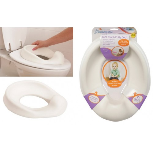 soft touch toilet seat. Dreambaby Soft Touch Potty Seat  White SALE
