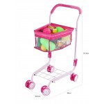 SALE! CHILDERENS SHOPPING TROLLEY/CART +FRUITS