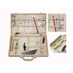 SALE! WOODEN TOOL Set Box- CARPENTER Tools in Carry CASE