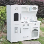 Brand New Deluxe Large Wooden Role Play Kitchen with Blackboard