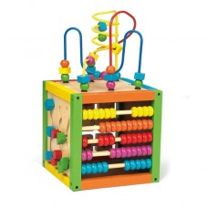 Sale! New Wooden Activity Wire Box with Beads
