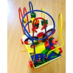 Brand New Kids Wooden Wire Bead Toy